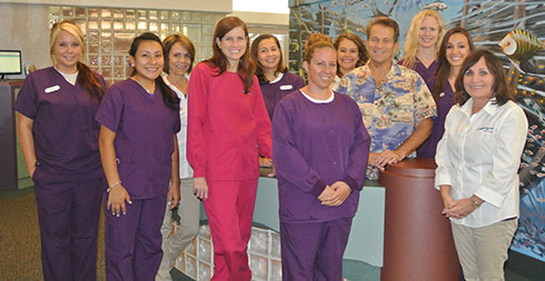 Dr. Duga and Dr. Feeney with Staff - Pediatric Dentistry and Orthodontics in Tampa and Wesley Chapel, FL