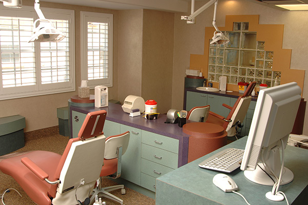 Hygiene Room with a Window - Pediatric Dentist and Orthodontics in Tampa, Wesley Chapel, Lutz and Land O' Lakes, FL