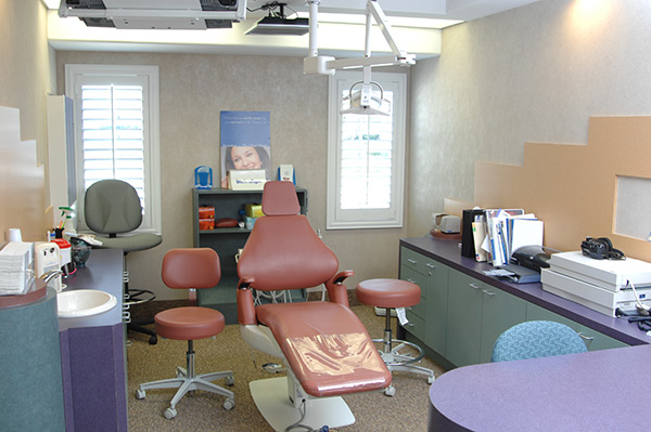 Hygiene Room - Pediatric Dentist and Orthodontics in Tampa, Wesley Chapel, Lutz and Land O' Lakes, FL